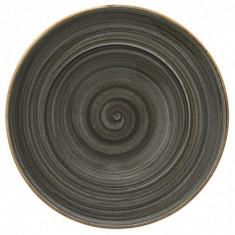 Farfurie Gourmet din portelan, 30 cm, adanca, Bonna Space, 010169