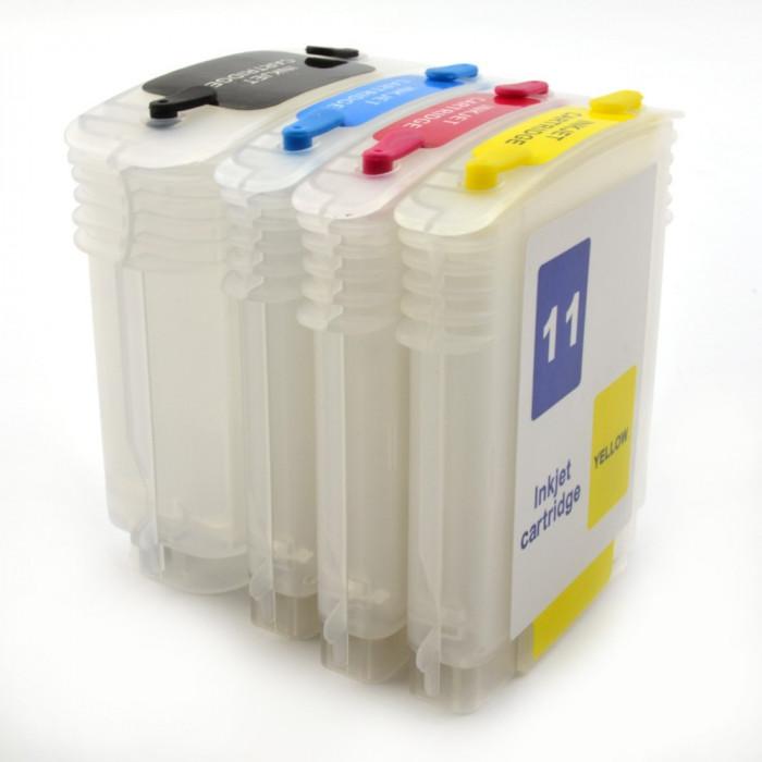 Cartuse reincarcabile pentru HP 10, 11