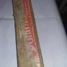 JOC ROMANESC VECHI DE DOMINO,PIESE DIN LEMN,DOMINO MARE,RASNOV,44 Pi,1960.T.GRAT