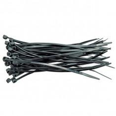 Colier plastic negru 400 mm 10985