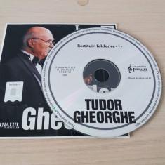 Tudor Gheorghe,cd muzica de colectie vol 63, nou!