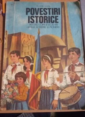 Carte veche 1984 pt.copii si scolari,Dumitru Almas-Povestiri istorice(vol. 3)T.G foto