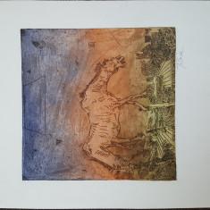 ION TITOIU - GRAVURA
