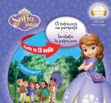 Sofia Întâi. O întrecere cu peripeții. Invitație la petrecere (format mic ) (Carte + CD audio)