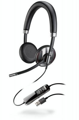Casca Call Center Plantronics BLACKWIRE C725-M , USB, Microsoft Certified, Binaural, Noise Canceling foto