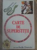 CARTE DE SUPERSTITII - COLECTIV