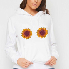 Hanorac dama alb - Sunflower, L, M, S, XL