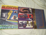 3 carti Vechi electronica,Almanah Tehnium,1986,1987,1990,Stare f.buna ,T.GRATUIT