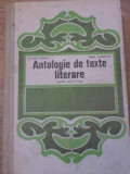 ANTOLOGIE DE TEXTE LITERARE PENTRU ANUL II-LICEU - S. BOATCA, V. TEODORESCU
