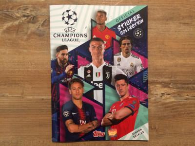 Topps Champions League 2018-19 Album gol foto