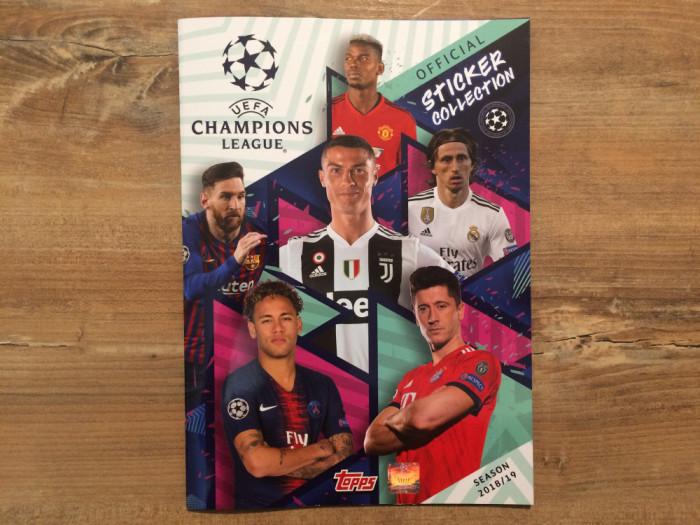 Topps Champions League 2018-19 Album gol