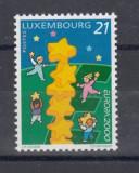 LUXEMBURG 2000 EUROPA CEPT, Nestampilat