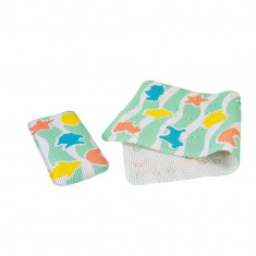 Set covoras antiderapant si genunchiera pentru baie Clevamama 3508 for Your BabyKids