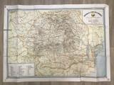 Harta turistică România/ ediția 1958//