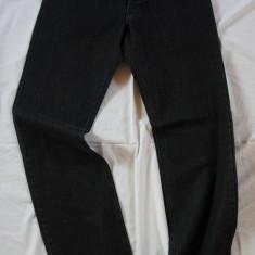 Blugi barbati clasici - gri inchis/negru - MOTTO W:31 (Art.022)