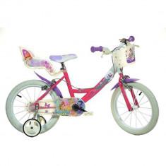 Bicicleta copii 16'' Winx PlayLearn Toys
