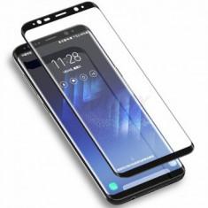 Folie protectie display sticla 6D FULL GLUE Samsung Galaxy Note 8 BLACK