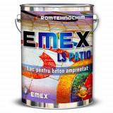 """Lac de Beton Amprentat """"EMEX LS PATIO"""", Transparent, Bidon 4 Kg"""