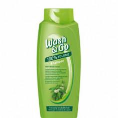 Sampon Wash&Go cu extract de urzica, pentru par cu tendinte de rupere, 750 ml