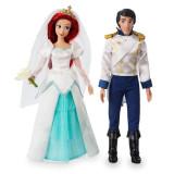Set Papusi Ariel si Eric - Mica Sirena, Disney