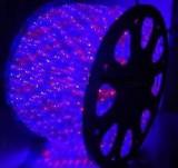 Furtun Luminos cu Banda 4000 LEDuri SMD Rosii si Albastre 100m