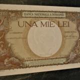 Carol II.....1000 lei 1939......PERFECT UNC...cu filigran