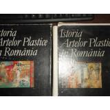 ISTORIA ARTELOR PLASTICE IN ROMANIA - 2 VOLUME,redactata de un colectiv sub indrumarea lui G.Oprescu