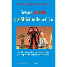 Despre puterile si slabiciunile sefului - Gheorghe Aradavoaice