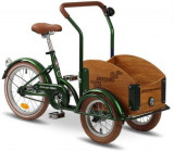 Bicicleta Pegas Mini Cargo 1S (Verde)