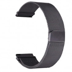 Curea otel inoxidabil Tech-Protect Milaneseband Samsung Galaxy Watch (46mm) Black