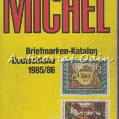 Michel. Briefmarken-Katalog Deutschland 1985/86