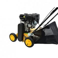 Scarificator pe benzina, motor Loncin G200F, 196 cm³, 40 cm, 5 – 15 mm / 6 trepte, sac 40 litri