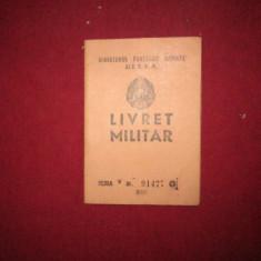 livret militar rpr  an 1955 pentru student  x14