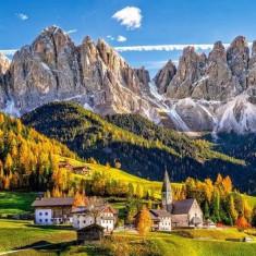 Puzzle Castorland - 500 de piese - Santa Maddalena in Val di Funes - Italia