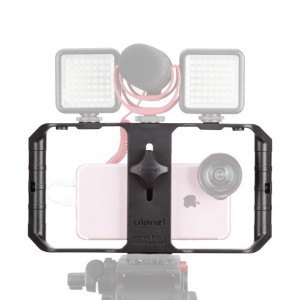 Suport stabilizator telefon U-RIG PRO pentru filmari interview, Video Rig