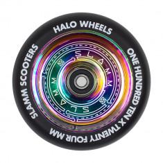 Roata trotineta Slamm 110mm Halo Deep Dish Neochrome + Abec 9