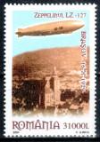 Romania 2004, LP 1652, Zeppelin deasupra Brasovului, MNH! LP 6,50 lei
