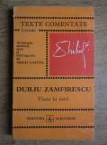 Duiliu Zamfirescu - Viața la țară ( TEXTE COMENTATE )