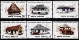Romania 1986 - LP 1162 Muzeul Satului, serie de 6 valori, MNH, Nestampilat