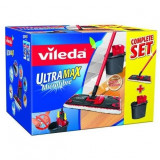 Set mop plat si galeata Vileda F1438V Ultramax