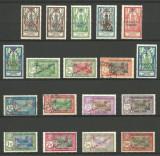 INDIA - ( COLONIE  FRANCEZA )   SUPRATIPARE 1943, Stampilat