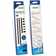 Set/Kit AntiPraf Dobe profesional Dust Proof pentru PlayStation PS4 Slim, negru