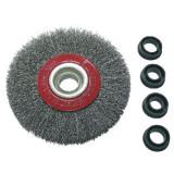 Perie sarma cu orificiu Proline, tip circular, 150 mm