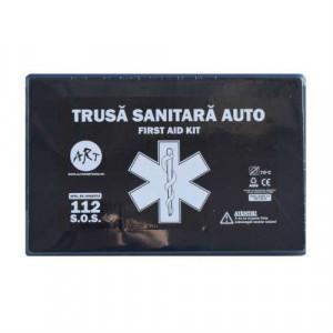 KIT SIGURANTA AUTO  - Stingator auto, trusa medicala,2 x triunghi,vesta