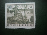 HOPCT TIMBRE MNH  738  NATURA-PARCUL NATIONAL BLOCKHEIDE  1984 -1 VAL AUSTRIA