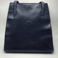 Geanta vintage Longchamp piele naturala interior/ exterior
