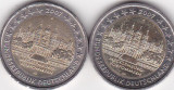 Germania 2 euro 2007 Meckelenburg, lit A si D, ieftin, Europa