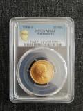 20 marci 1900F MS 64, Europa
