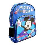 Ghiozdan clasa 0 Pigna Mickey Mouse albastru-multicolor MKRS1942-1