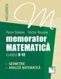 Memorator. Matematica. Clasele 9-12. Geometrie. Analiza matematica